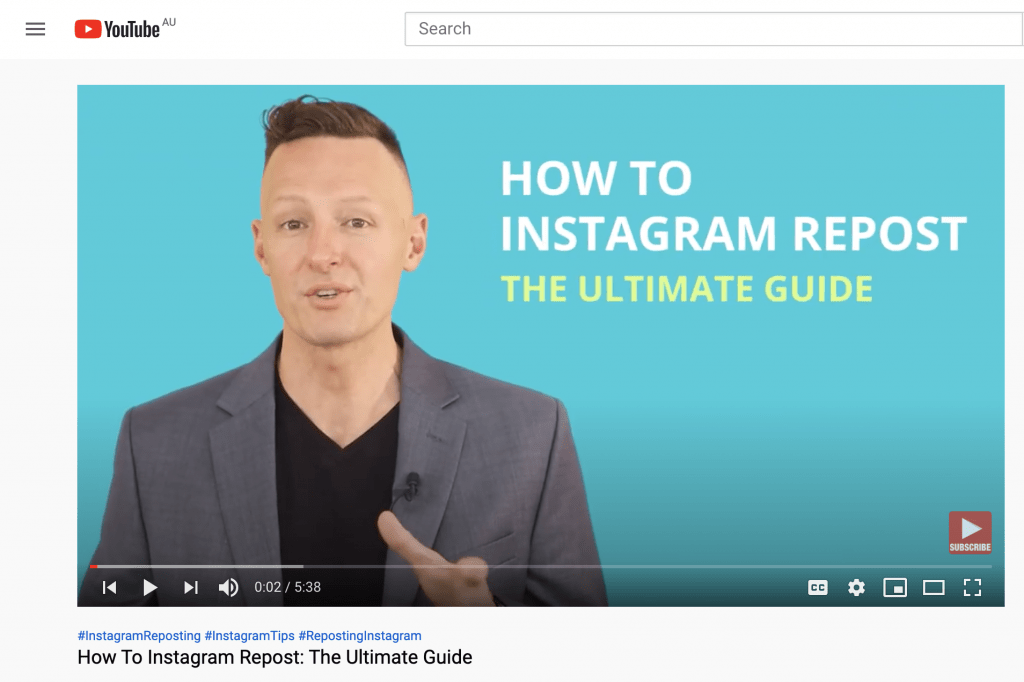 How to instagram repost - Social Media College