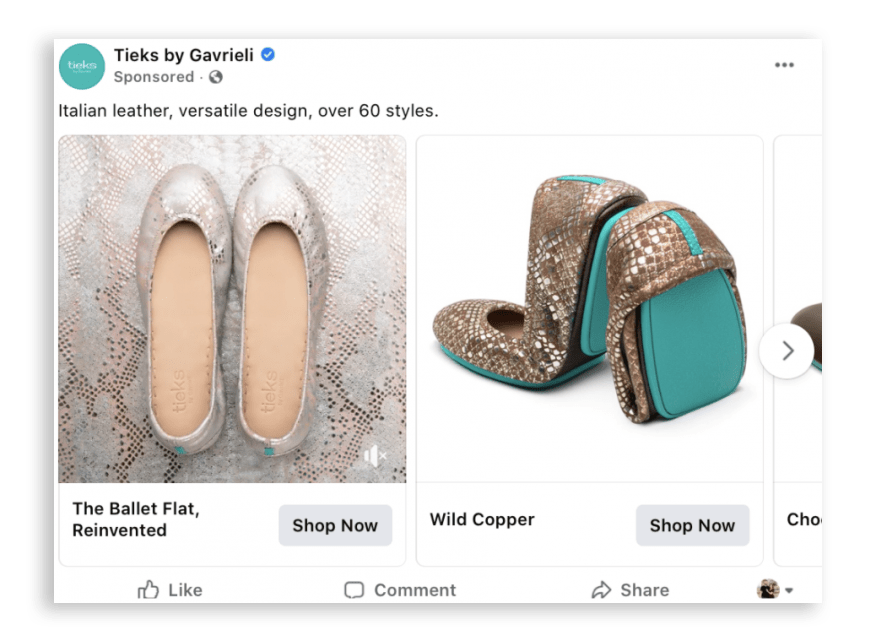 Facebook Carousel Ads Best Practices