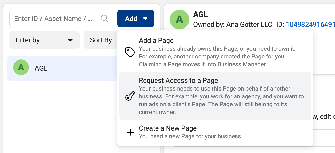 Connect to Client Accounts through the Facebook Business Suite