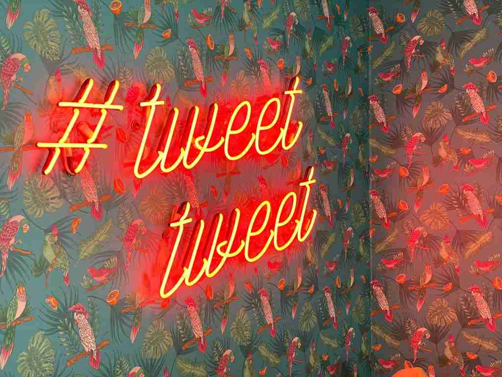 Using twitter hashtags to enhance brand research