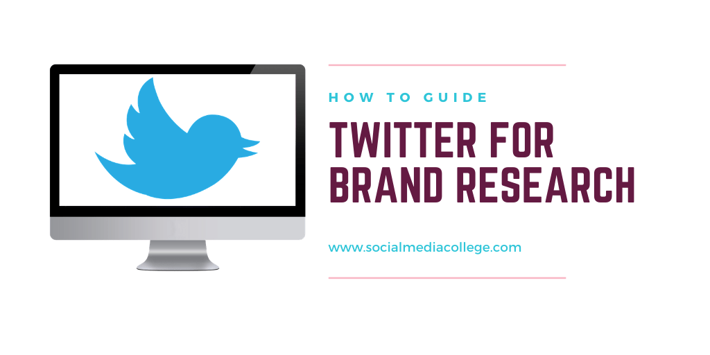 Using Twitter for brand research